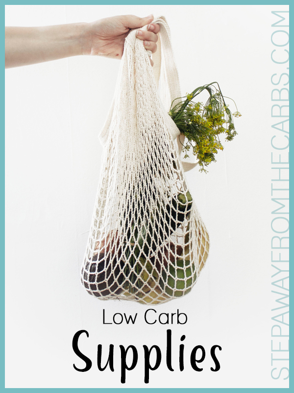 Low Carb Supplies - a guide to online stores from StepAwayFromTheCarbs.com