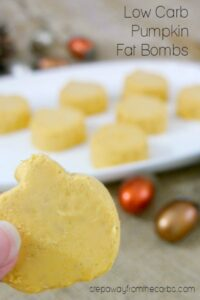 Low Carb Pumpkin Fat Bombs