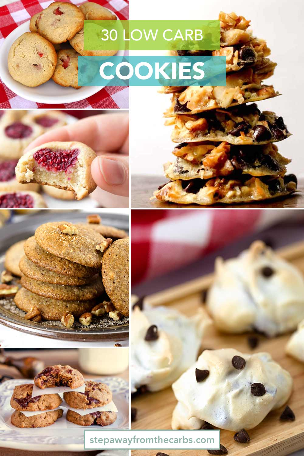 30 Low Carb Cookies - so many great recipes to try and store bought options to choose from!