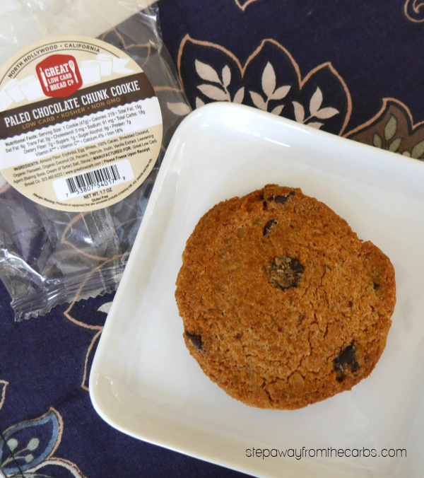Chocolate Chunk Cookie from Great Low Carb Bread Co