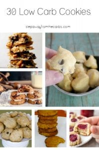 30 Low Carb Cookies