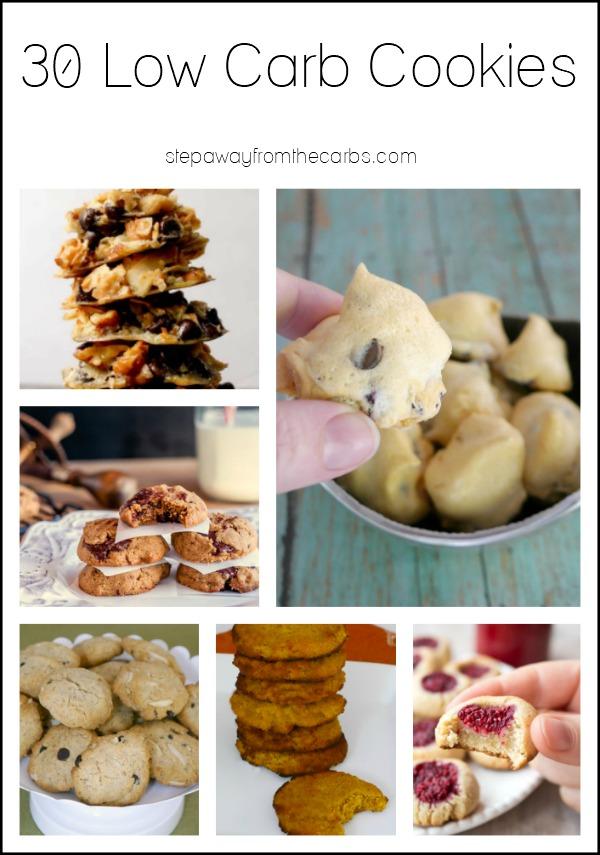 30 Low Carb Cookies