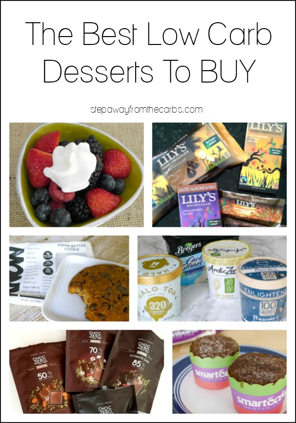Best Low Carb Desserts to Buy