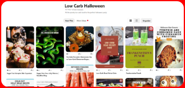 Low Carb Halloween Recipes - for parties, kids, and anyone who loves fun and spooky food!