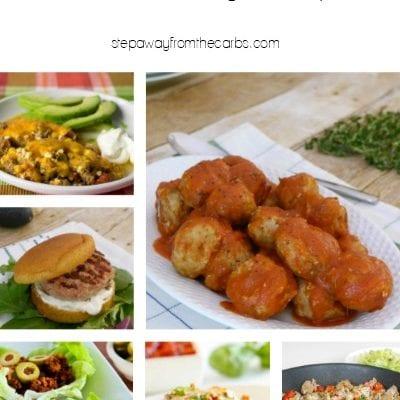 12 Low Carb Ground Turkey Recipes
