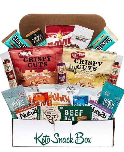 Keto Snack Box from Amazon