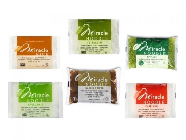 Miracle Noodles Variety Sampler Pack