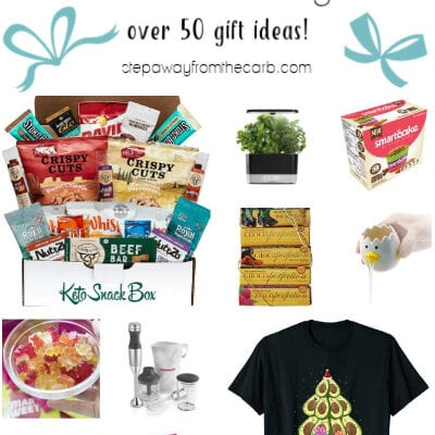 Low Carb Gift Guide for the Holidays
