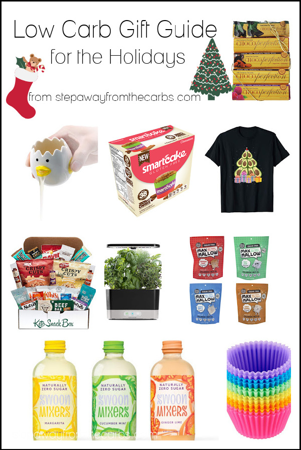Low Carb Gift Guide for the Holidays - updated for 2020