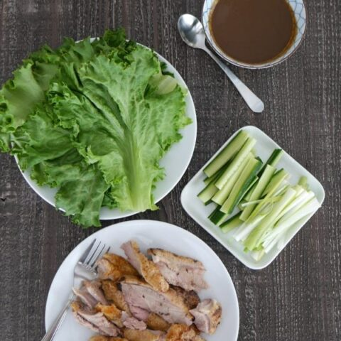 Low Carb Peking Duck