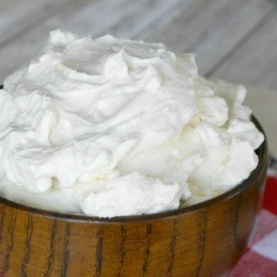Low Carb Cream Cheese Frosting