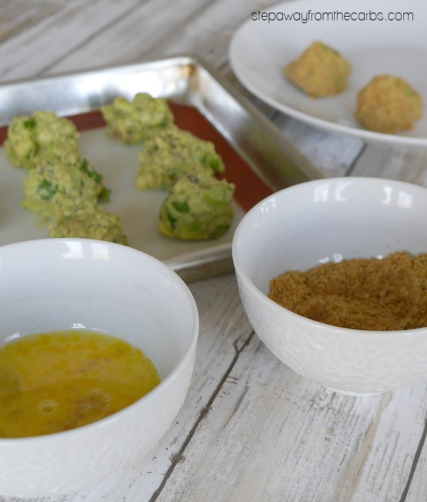 Low Carb Guacamole Bombs - a tasty keto recipe that is perfect for entertaining!