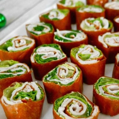 Low Carb Holiday Pinwheels
