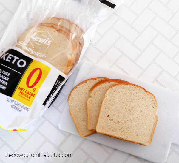 0g net carb keto bread from Lewis Bake House