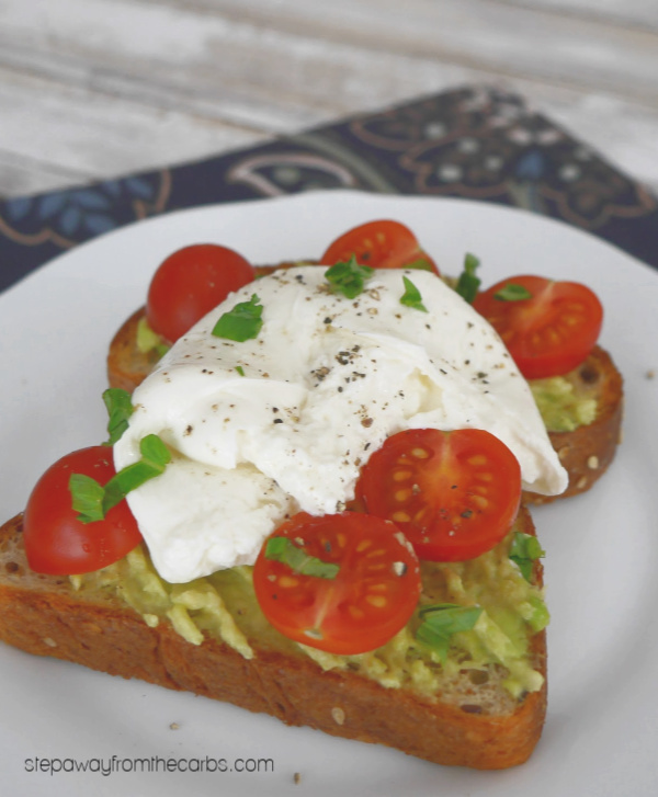 Low Carb Avocado Toast - 14 Ways! Featuring low carb bread.