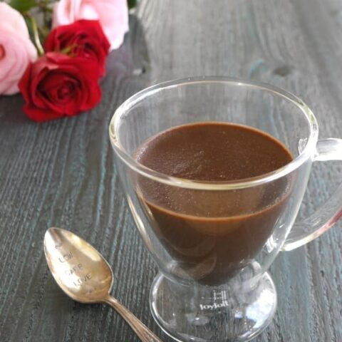 Low Carb Chocolate Pots de Creme