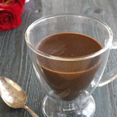 Low Carb Chocolate Pots de Crème