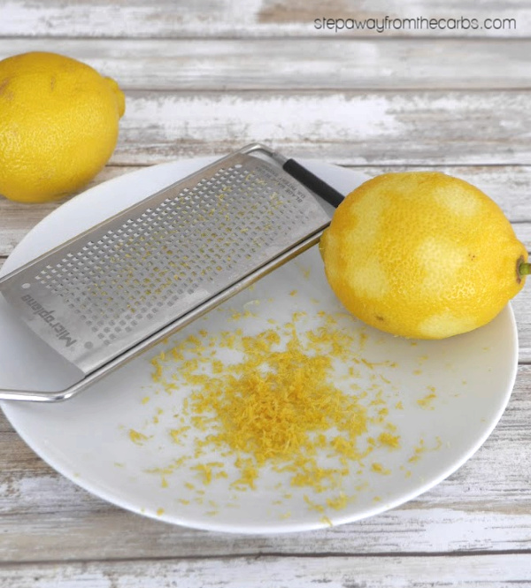 Low Carb Lemon Curd - a deliciously tangy sugar free condiment!