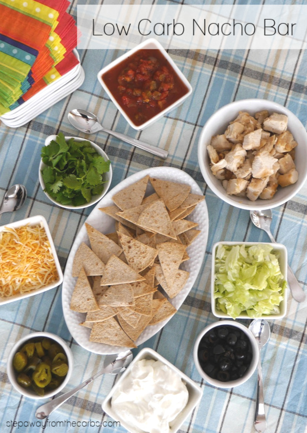 Low Carb Nacho Bar