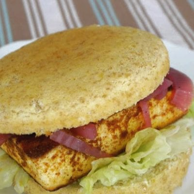 Low Carb Paneer Burger