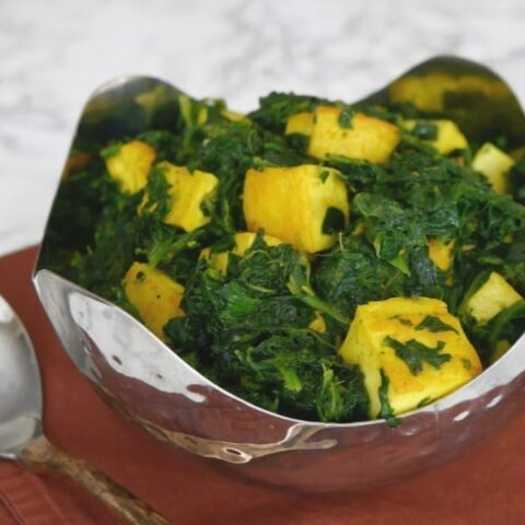 Low Carb Saag Paneer