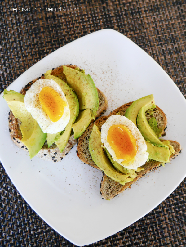 Indian-Inspired Low Carb Avocado Toast