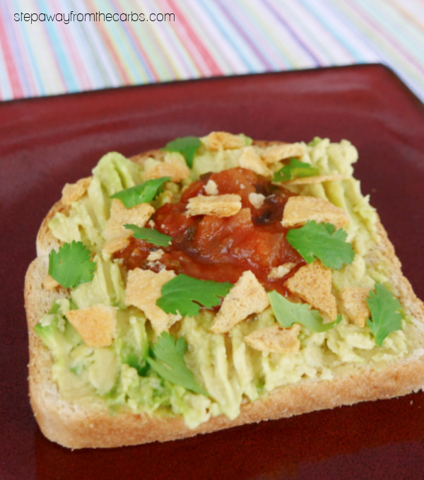 Mexican-Inspired Low Carb Avocado Toast