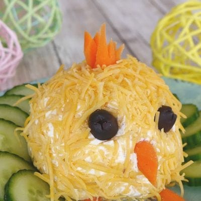 Easter Chick Cheese Ball