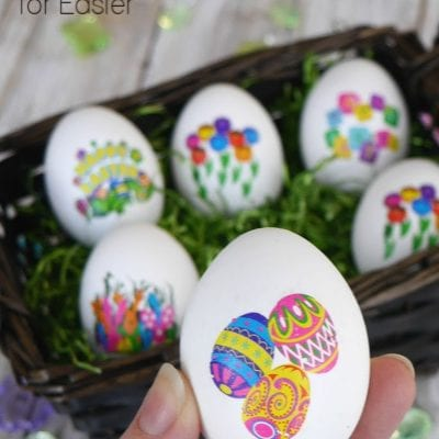 Easy Hard Boiled Eggs for Easter