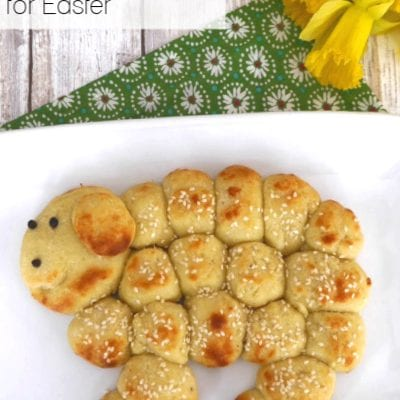 Low Carb Pull-Apart Bread for Easter