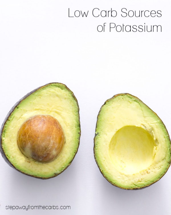 Low Carb Sources of Potassium - a comparison of common foods with recipe suggestions