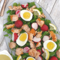 Low Carb Spring Salmon Salad