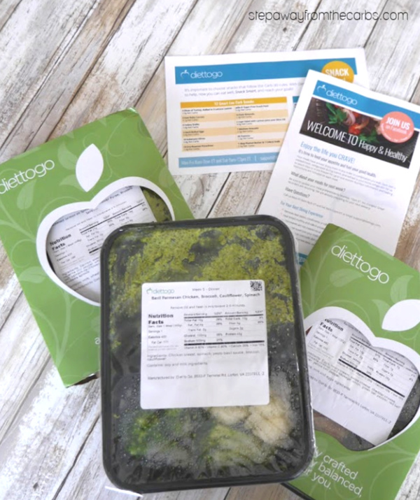Low Carb Meals from Diet-to-Go - my review of this excellent meal delivery service!