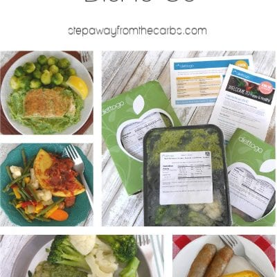 Low Carb Meals from Diet-to-Go