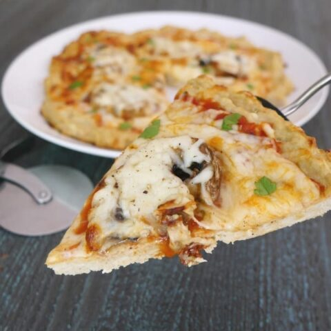 Low Carb Chicken Meatza