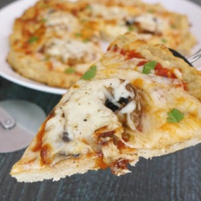 Low Carb Chicken Meatza Pizza