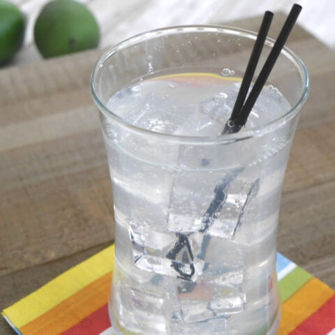Low Carb Paloma Cocktail