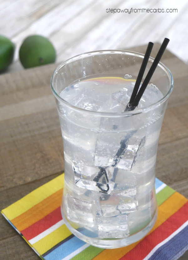 Low Carb Paloma Cocktail - a refreshing sugar free and keto-friendly grapefruit flavored drink!