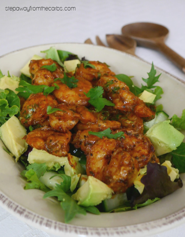 Mexican Shrimp Salad - a delicious appetizer or lunch recipe with avocado!