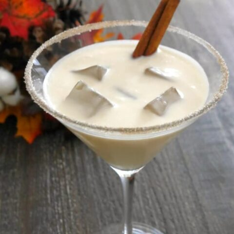Low Carb Creamy Mapletini