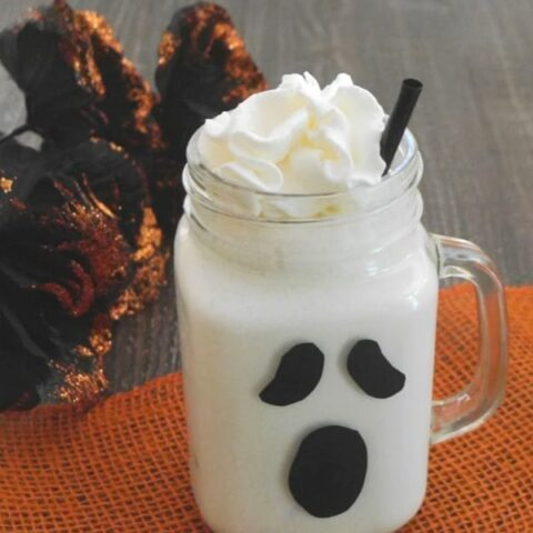 Low Carb Ghost Milkshake