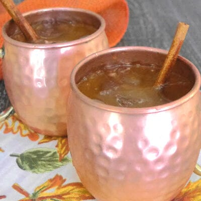 Low Carb Pumpkin Moscow Mule