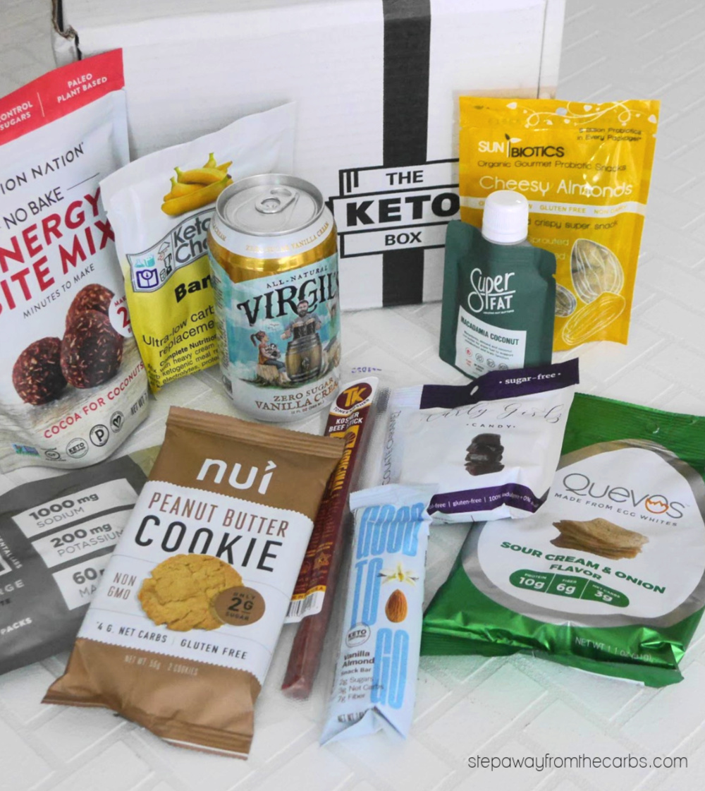 The Keto Box - great for low carb snacks!