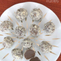 Low Carb Chocolate Hazelnut Truffles