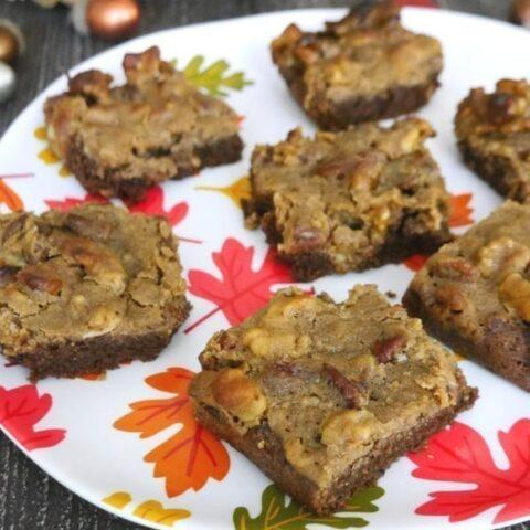 Low Carb Pecan Pie Brownies