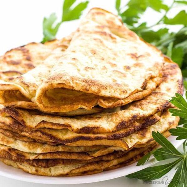 Low Carb Coconut Tortillas