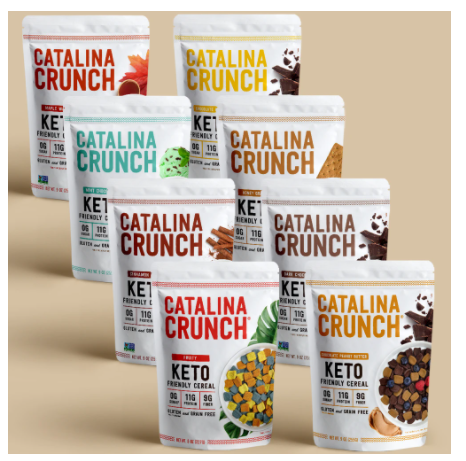 Catalina Crunch - keto cereal
