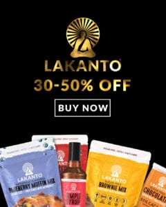 Lakanto Black Friday Deal