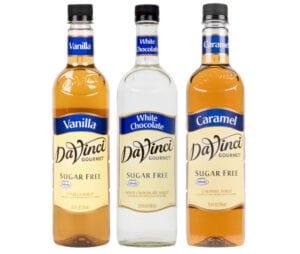 Da Vinci Sugar Free Syrups