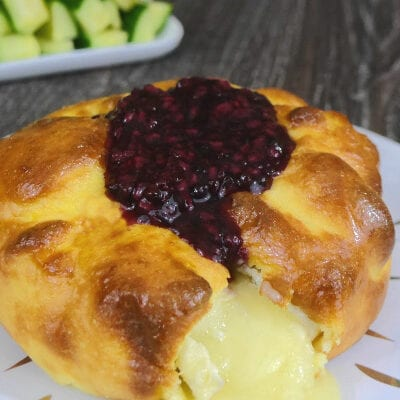 Low Carb Brie En Croute